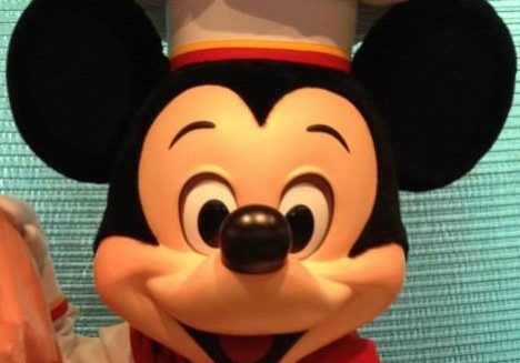 . It does not matter where you are or what language you're speaking – Mickey is still Mickey, and that's cool.