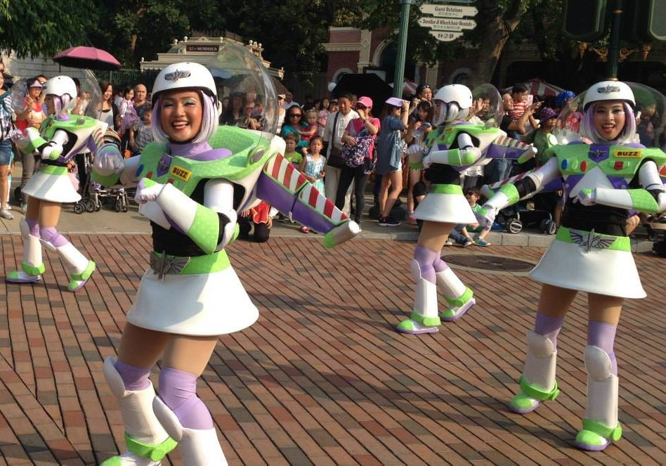 "Buzz Lightyear has his own chorus line… ""Twins, Basil. Twins."""